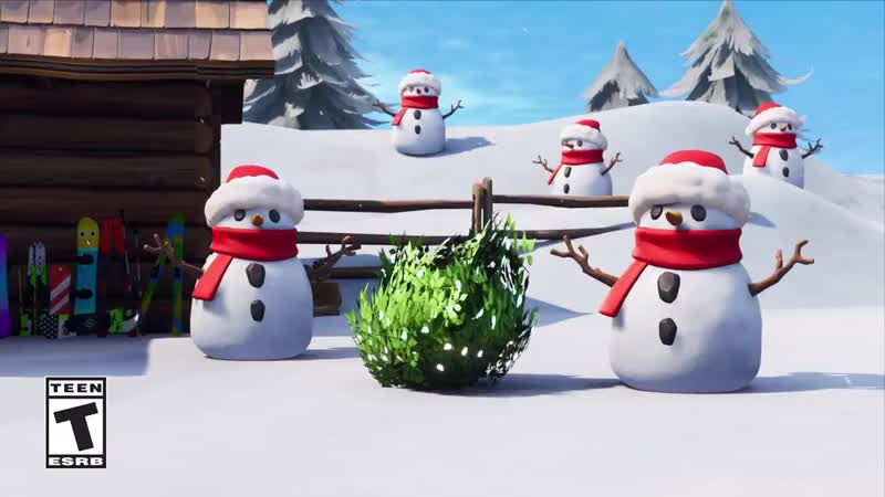 Sneaky Snowman - - Is that snowman closer than it was a second ago Sneak around the map and surprise enemies in a frosty new way