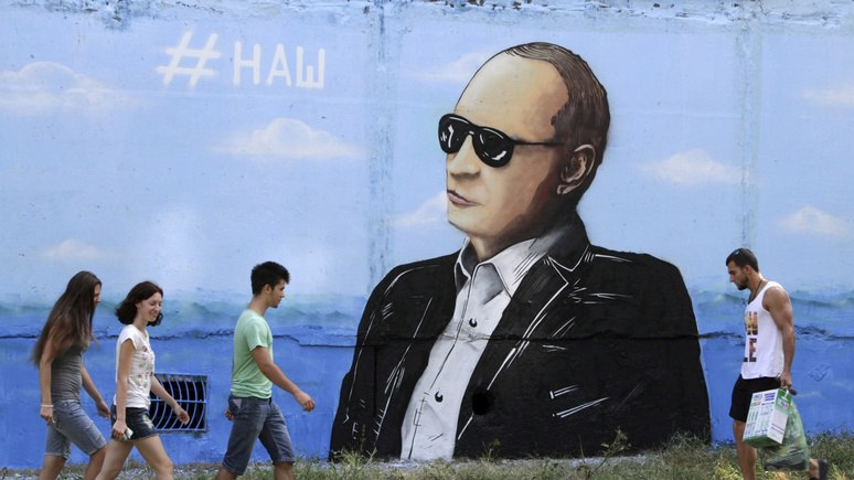 N-TV: Путин победил — за Симферополь на Западе никто умирать не хочет