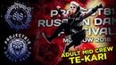 TE KARI ✪ RDF18 ✪ Project818 Russian Dance Festival ✪ ADULTS MID CREW