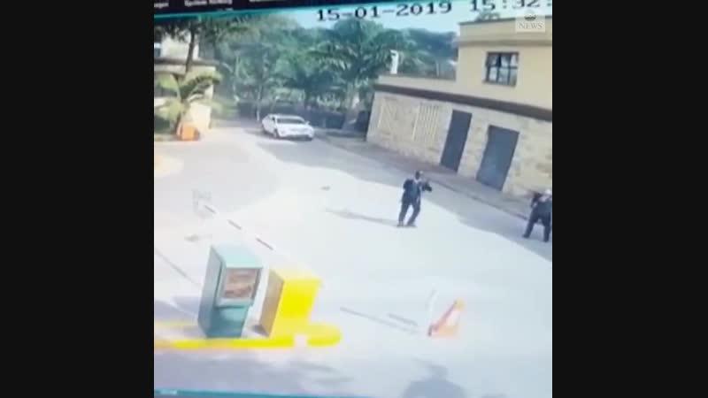 Теракт в отеле в Найроби Кения 15 01 2019