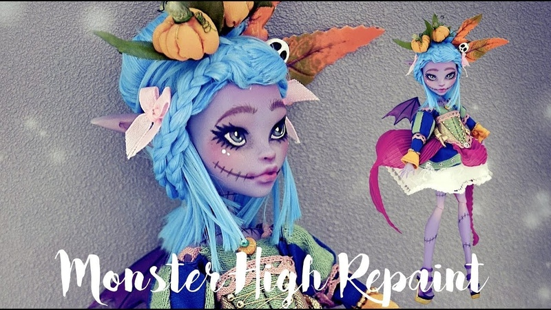 MALICIA THE HALLOWEEN DEMON - MONSTER HIGH REPAINT