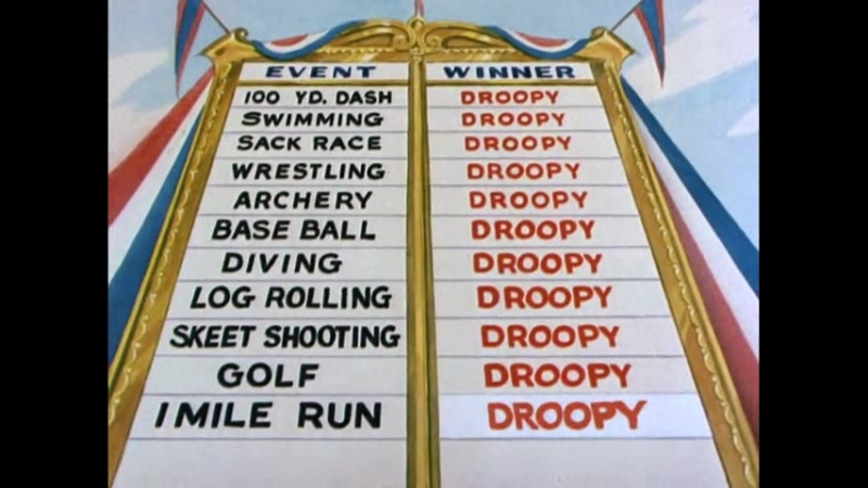 Droopy 8 The Chump Champ