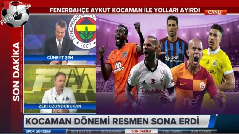 Fenerbahçede Aykut Kocaman dönemi resmi olarak sona erdi