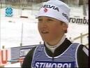 Лыжные гонки. Чемпионат мира 1995. Тандер-Бей. 30 км. Женщины. Свободный стиль. Раздельный старт