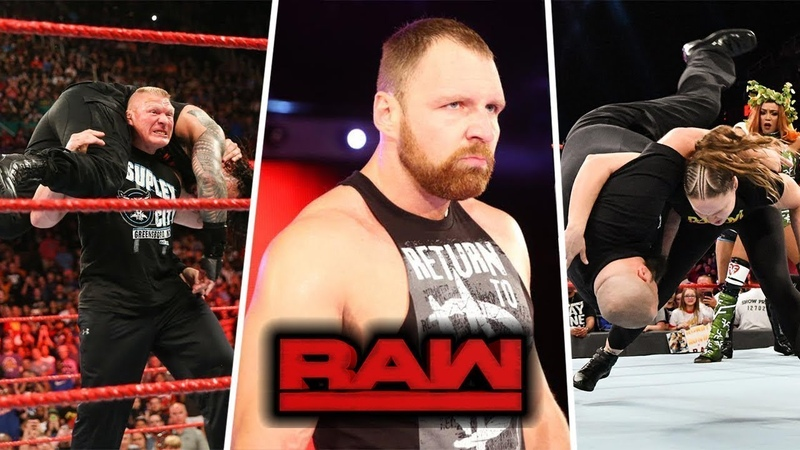 WWE Monday Night RAW top 5 moments 8132018 Highlights