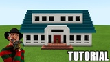 Minecraft How To Make Freddy Krueger House