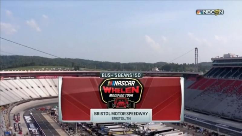 2018 NASCAR Whelen Modified Tour - Round 11 - Bristol 150
