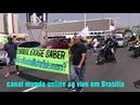 Ato a favor Bolsonaro agora em Brasília, 30/09/2018 apoiadores de Brasília
