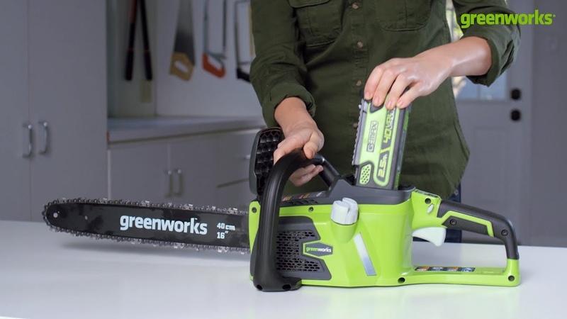 Преимущества аккумуляторной техники Greenworks
