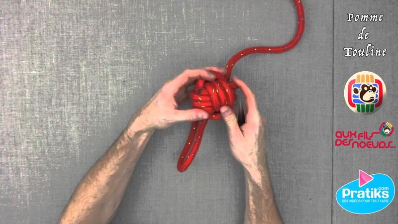 Comment realiser un noeud marin - la pomme de touline