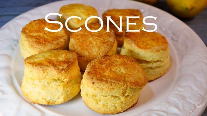 Receta de SCONES deliciosos EN MINUTOS