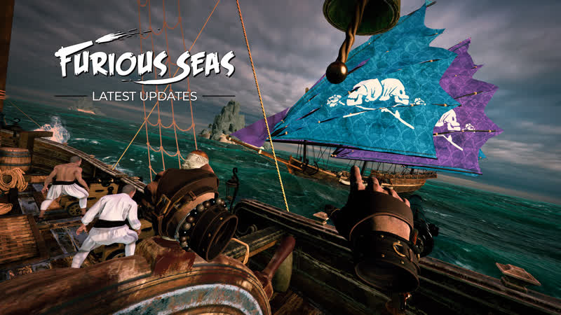 ARRRR ПИРАТЫ В ХАЛАТАХ! (Furious sea VR)