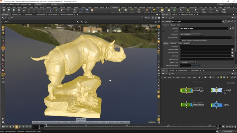 Houdini For the New Artist - 006 - Adding the Backdrop