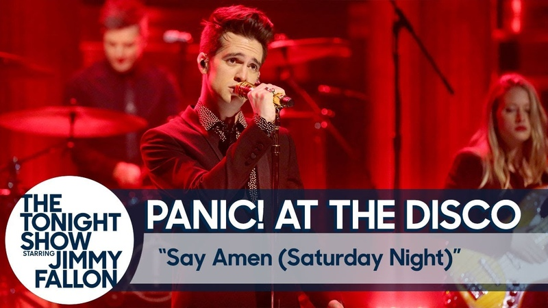 Panic At The Disco Say Amen Saturday Night