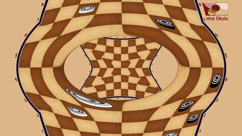 Burov A. (RUS) - Berdibaev B. (KAZ). World_Russian Checkers_Men-1996.