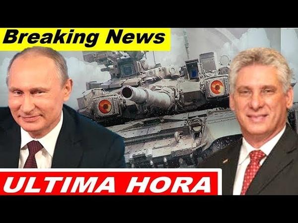 🔴 ultima hora RUSIA DARÁ MAS PODER a SU ARMA ALUCINÓGENA y CUBA ENCARA a EEUU