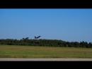 Аэродром Кубинка. Пилотажная группа Первое августа (КНР). Взлёт 2-й тройки