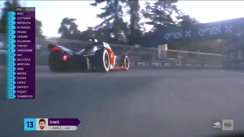 Time for an onboard lap of the Santiago EPrix with Alexander Sims