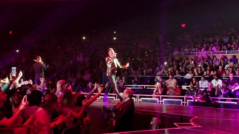 Ricky Martin 4k This is good! 05232018 (All In)Park Theater at Monte Carlo, Las Vegas