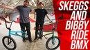 PHIL SKEGGS CALLUM BIBBY RIDE BMX!