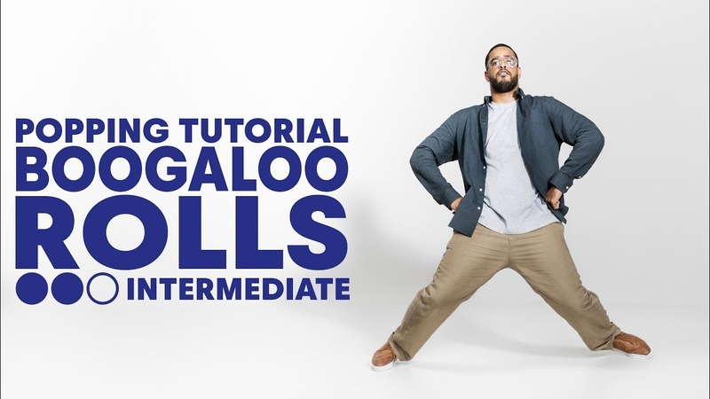 Popping (Boogaloo) with Nelson I Boogaloo Rolls Intermediate