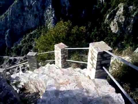 Άγιον Όρος - Έρημος Αγίου Νείλου του μυροβλήτη