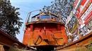 Bangladesh Railway Camera Under Freight Train Runs Over My Camera/Дакка Бангладеш Камера под поездом