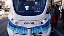 Autonomous Las Vegas Downtown Bus First Day driverless January 2017