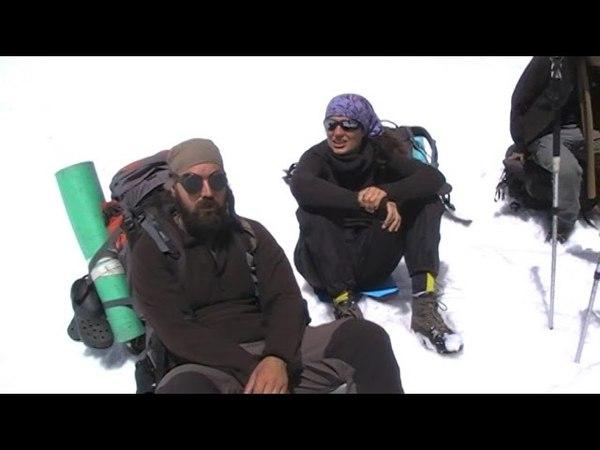 мы на подступах к вершине Эльбруса