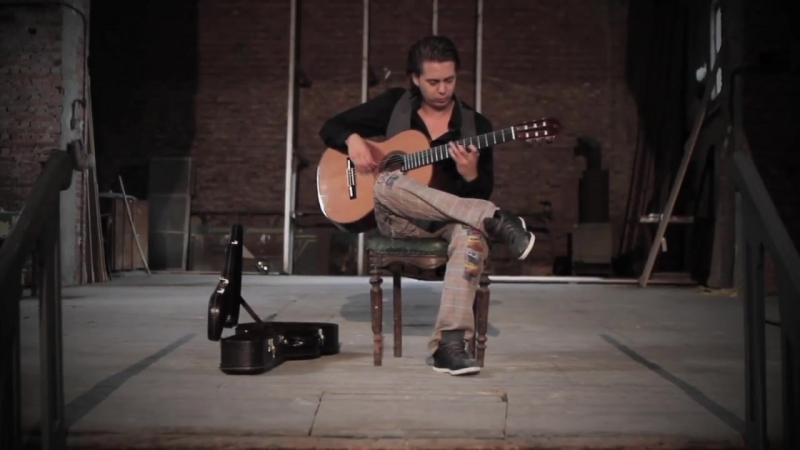 Fear Of The Dark (Iron Maiden) acoustic - Thomas Zwijsen - official video.mp4