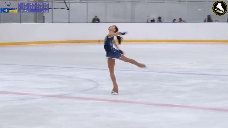 Софья САМОДЕЛКИНА FS (139 points!) - Мемориал Волкова 2018 (Sofia Samodelkina)