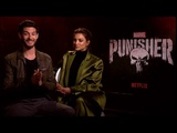 The Punisher Interview with Ben Barnes and Amber Rose Revah