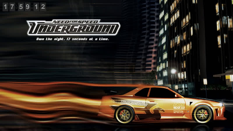 LIVE NFS Underground Классика уличных гонок Logitech G27 в кокпите