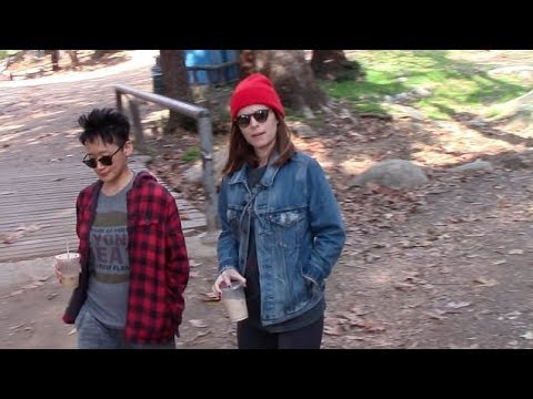 Kate Mara stays coy on her pregnancy while hiking with friend