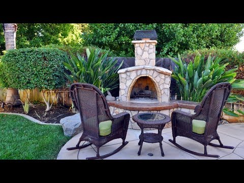 🔴 Landscape Design Backyard. ⏩ Relaxation Area In The Garden. Part 4