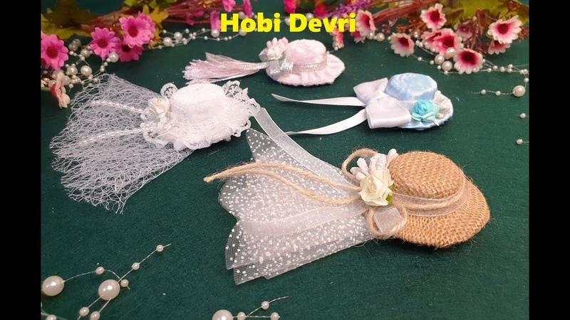 DIY,Making Hat With Plastic Bottles Cap,Wedding Favors,Pet Şişe Kapaklarından Şapka Yapımı,Hediyelik