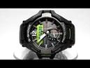 Casio G Shock GR B100 1A3 Gravitymaster Bluetooth Solar powered watch video 2018