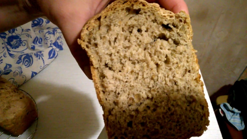 домашний хлеб на опаре с семечками