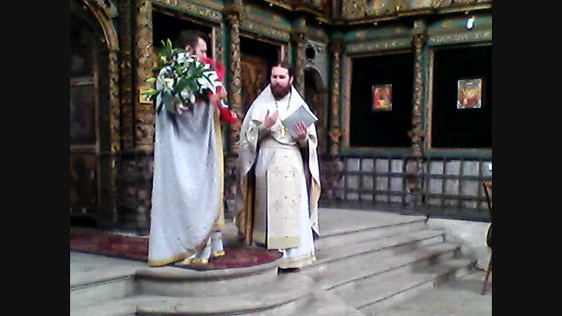 Священники Александр Сатомский и Вячеслав Нефедов 15.06.2014. 11 часов 09 минут
