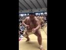 夏巡業@秋田市阿武咲の摺り足sumo 相撲