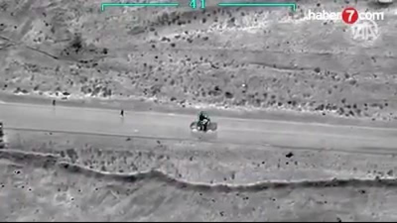 Минобороны показал видео уничтожения Исмаила Оздена, который являлся куратором группировки виракском Синджаре. Террорист из кра
