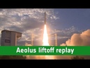 Aeolus liftoff replay