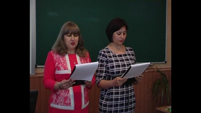 В Старобешевской первой школе, в рамках Республиканского конкурса «Топ-менеджер представляет», состоялось занятие для директоров