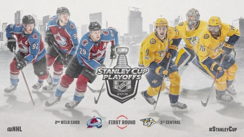 НХЛ - плей-офф Колорадо–Нэшвилл