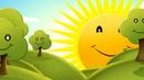 Солнышко встает футаж фон скачать бесплатно