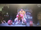 Юрий Белкин 410 кг весовая до 110