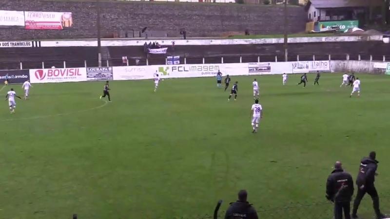 Lusitano FCV - Uniao Leiria 2:1(08/04/2018)