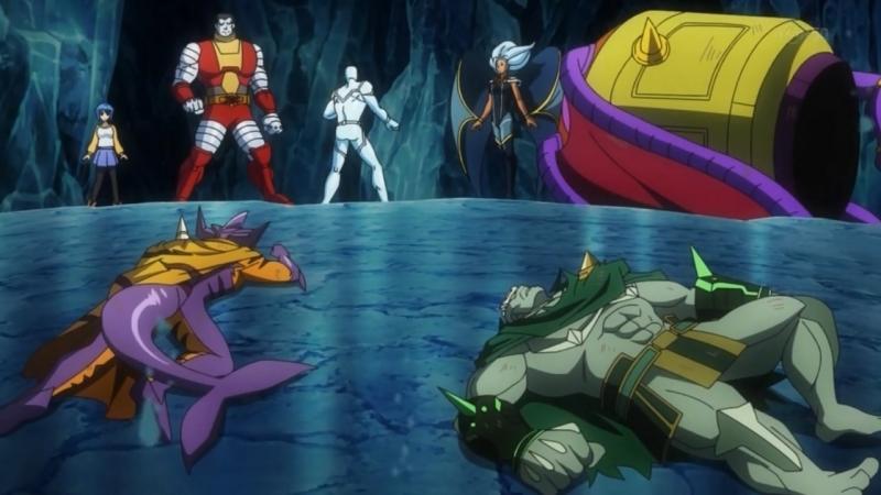 DISK WARS - Os Vingadores: Arco dos X-Men | Episódio 7: Batalha Final! Loki vs Heróis | Legendado