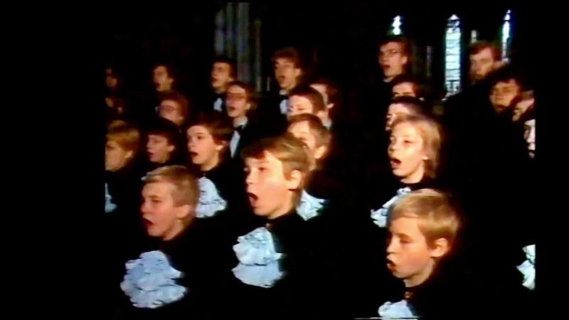 Choralschule Sweschnikow Knabenchor Moskau 1988 in Deutschland