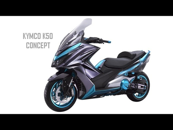 2017 New Maxi Scooter Kymco K50 Concept